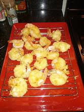 Photo: Homemade shrimp tempura
