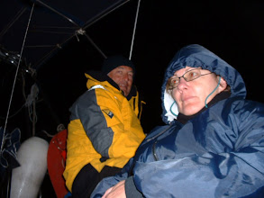 Photo: Night passage Cold and with a bit of wind