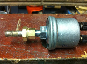 Photo: sonde de pression d'huile+embout