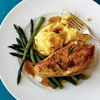 Lemon-Rosemary Chicken Breasts.