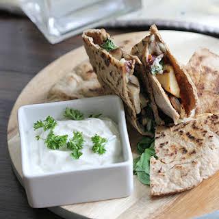 Greek Breakfast Wraps #SundaySuppers.
