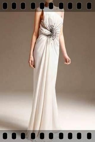 イブニングドレスのデザイン