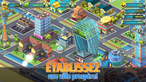 Bourg tropical (Town Building Games: Construction) captures d'u00e9cran 2