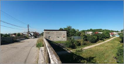 Photo: Pod si strada Panait Cerna peste Str. Funicularului - vedere de pe Str. Miron Costin  - 2017.07.18