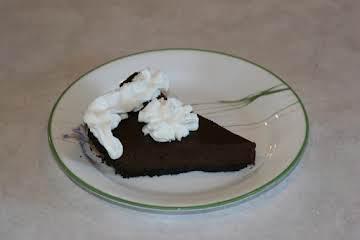 Chocolate Ganache Pie