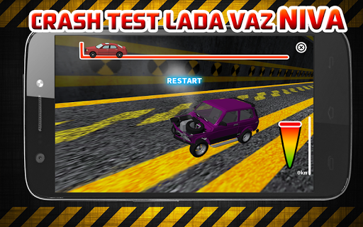 Crash Test LADA VAZ NIVA