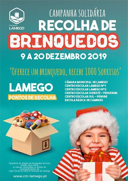 Município de Lamego promove campanha de recolha de brinquedos
