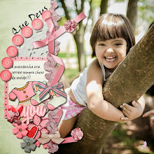 Photo: My Little One Girl by Just Because Studio Font Viner Hand ITC PS CS5