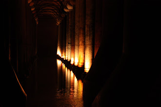 Photo: Day 114 - The Pillars in The  Basilica Cistern #6