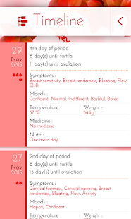 Period Tracker & Diary- screenshot thumbnail