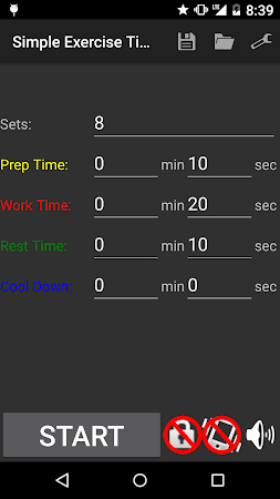 Simple Exercise Timer 1.0.1 screenshot 166540
