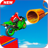 Moto Bike Impossible Tracks Bike Stunts