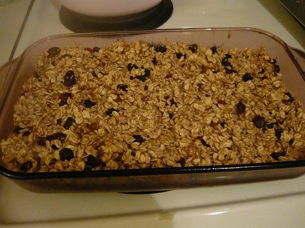 Fruity Baked Oatmeal Recipe