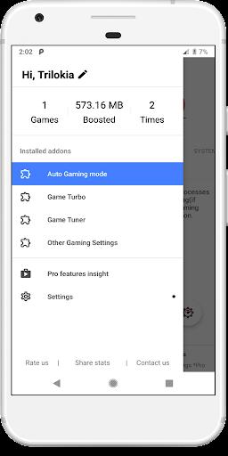 Gamers GLTool Free with Game Turbo & Game Tuner screenshot 1