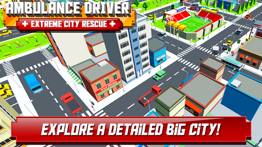 Ambulance Driver - Extreme city rescue 1.0 screenshots 9