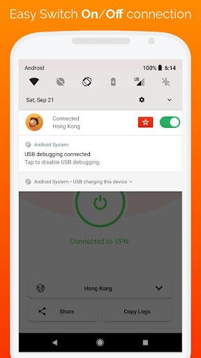 BelkaVPN - Free VPN, Proxy, Ads/Malware blocker screenshots 3