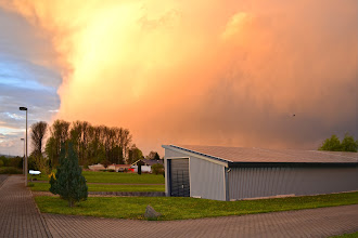 Photo: Unwetter über Borken, (c) Martina Sachs