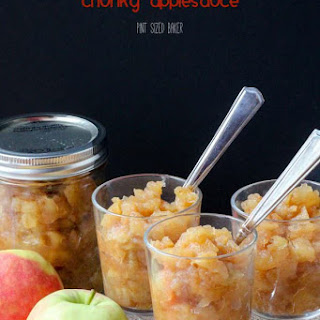 Chunky Applesauce Dessert Recipes