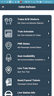 Indian Rail PNR Status App Latest Version  Download For Android 2