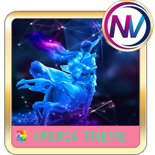 Angel Xperia theme