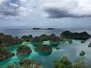 Top. Dive Sites, Kri Island, Raja Ampat, Papua. Pianemo Island