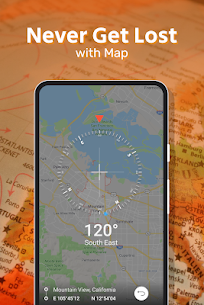 Smart Compass: GPS Coordinates – GPS Tracker Apk  Download For Android 3