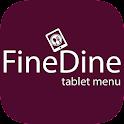 FineDine Tablet Menu icon