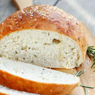 Rustic Rosemary Bread.