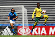 Sibulele Holweni captained the U17 women's team at the World Cup in Uruguay.
