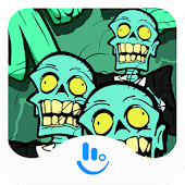 TouchPal Zombie Keyboard Theme