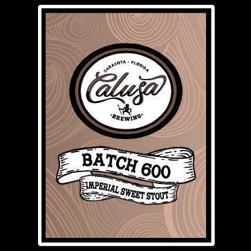 Logo of Calusa Batch 600