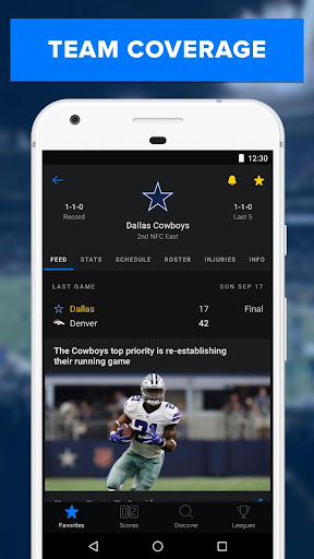 theScore: Live Sports News, Scores, Stats & Videos 6.5.2 screenshots 8