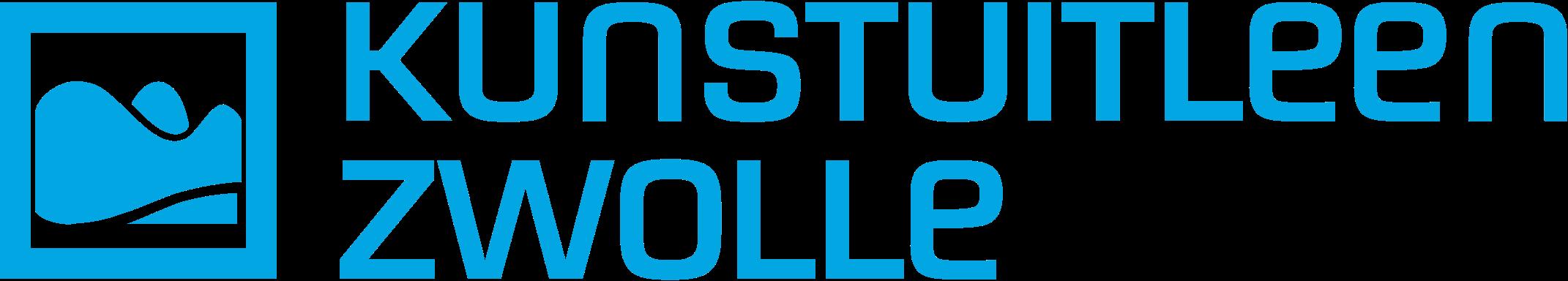 Het logo van Kunstuitleen Zwolle
