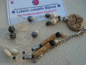 Photo: Créatrice de Bijoux MON BLOG : http://creatrice-bijoux.blogspot.fr naviginternet@orange.fr ✿ Loisirs créatifs Bijoux ✿ #Homemade #Handemade #Recycling #Jewelry #Colliers #Perles #bijoux #bijouxfantaisie #bijoufantaisie #créatricebijoux #collier #DIY #BIJOU #DESIGNER #creationbijoux #Colliers #DIY #Bijoux #Jewelry #Loisirscreatifs