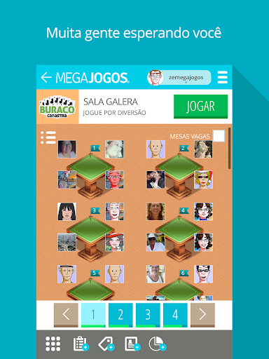 MegaJogos - Online Card Games and Board Games  gameplay | by HackJr.Pw 14