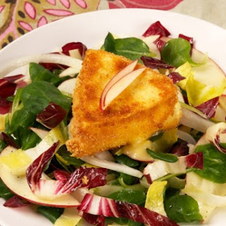 Endive and Apple Salad with Fried Camembert CBC Best Recipes Ever Recipe