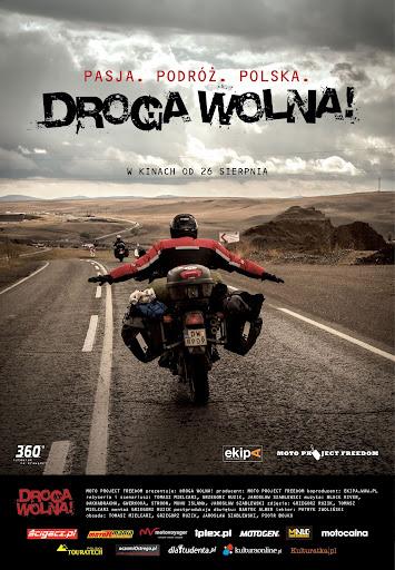 Polski plakat filmu 'Droga Wolna!'