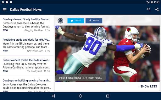 Dallas Football News  screenshots 10