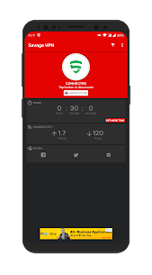 Savage VPN – Free Unlimited VPN 2