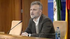 José Fiscal, portavoz del PSOE en el Parlamento andaluz.