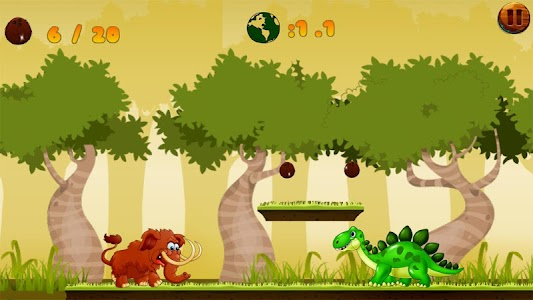 Jungle Mammoth Run screenshot 0