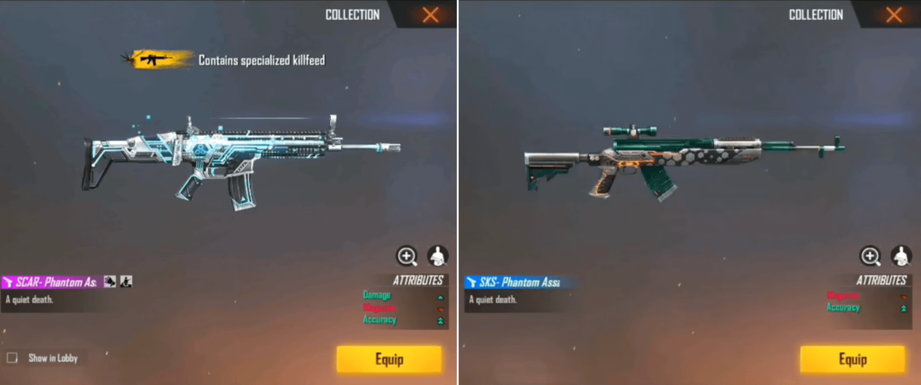 Image result for How To Get Free Guns Skin in Free Fire