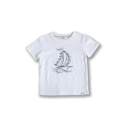 Hunter - Tee with front print for children