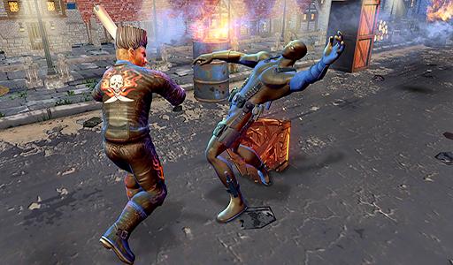 Ultimate Grand Paul VS Superheroes Champs Battle