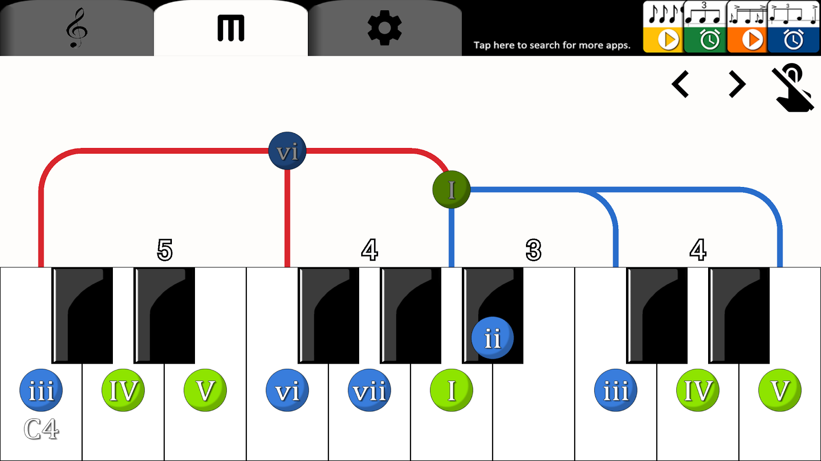 Piano chord helper android apps on google play piano chord helper screenshot hexwebz Images