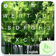 Peaceful Forest Keyboard Theme apk