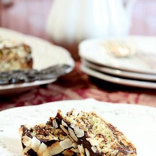 Triple-Layer Chocolate Macaroon Cake by François Payard