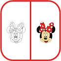 Drawing Mickey Mouse - Minnie icon
