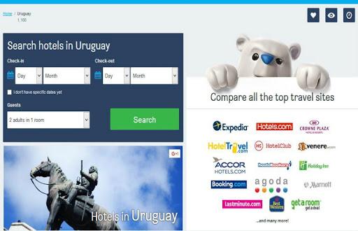 Uruguay Hotel Booking