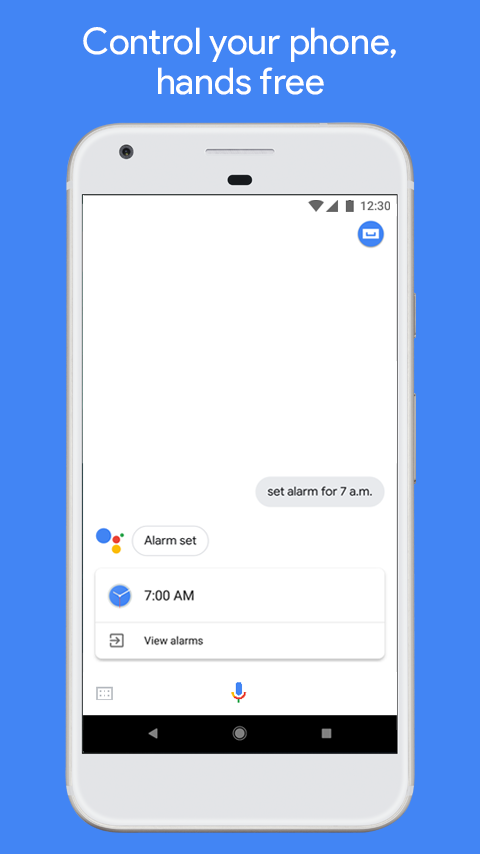 Google Assistant- screenshot